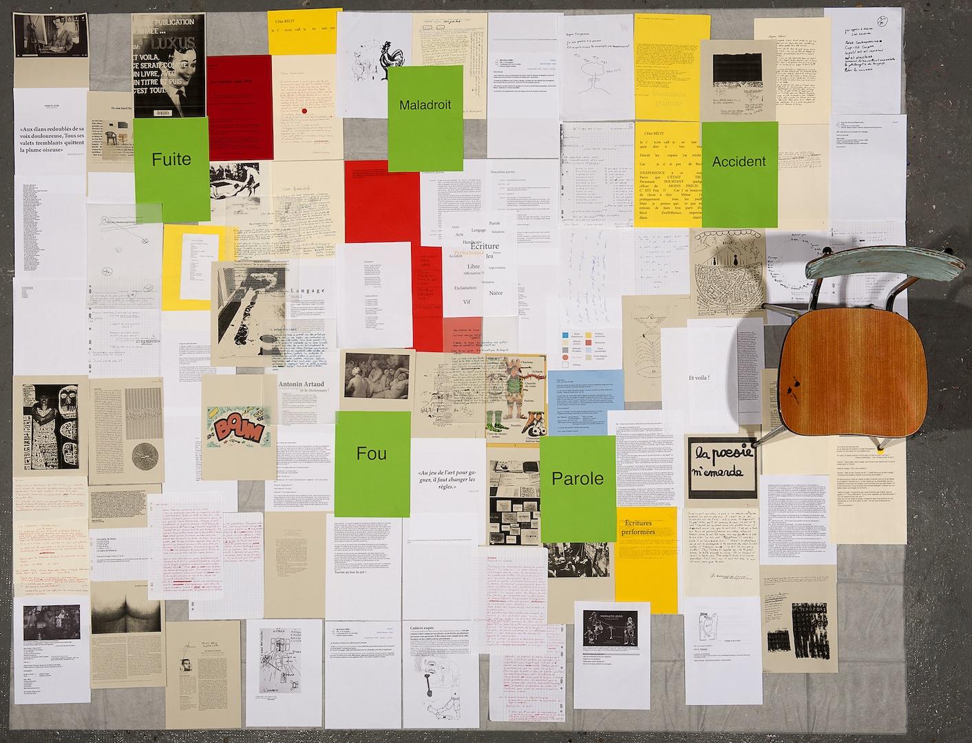 photographie plan memoire 5ème année DNSEP master 2 école d'art d'aix-en-provence deborah repetto andipatin